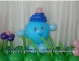 капитошка колобки Черкассы pozitiv доставка украшение шарами оформление позитив.ск.юа фигура шары